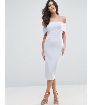 Sukienka ASOS Off The Shoulder