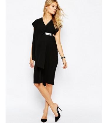 Sukienka ciążowa exAS Asymetric S