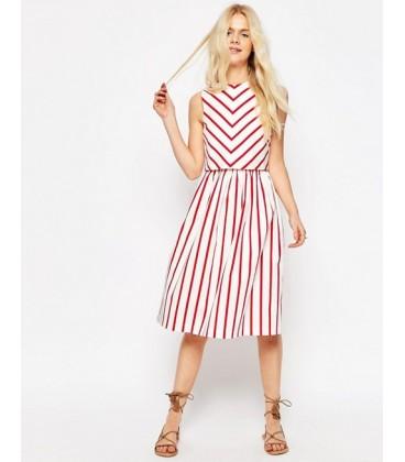Sukienka exAS Stripe Piknik M