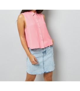 Bluzka koszulowa NL Latte XXL