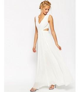 Sukienka ASOS Side Cut Out Maxi