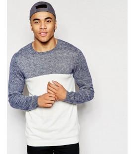 Sweter exASOS Colour Block S
