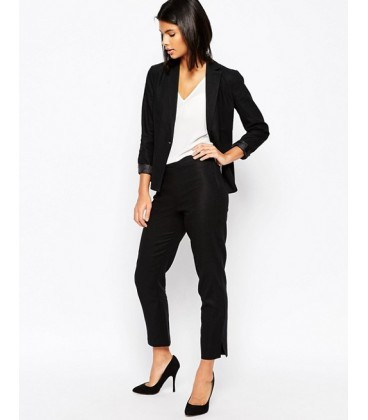 Spodnie exAS Linen Crop Trousers M