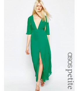 Sukienka exASOS Pleated Flutter XS