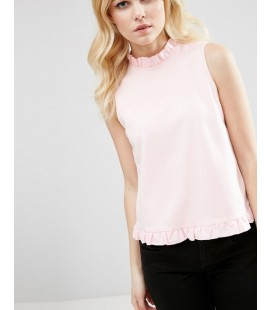 Top exAS Shell Ruffle XL