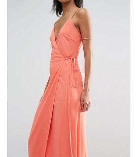 Sukienka ASOS Wrap Cami L
