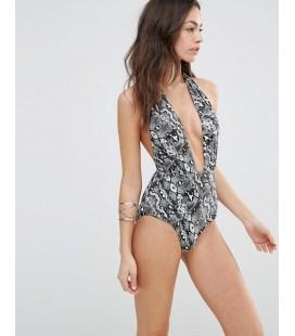 Kostium kąpielowy South Beach Snake Print L