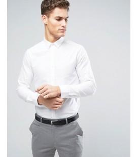 Koszula exAS White Oxford L