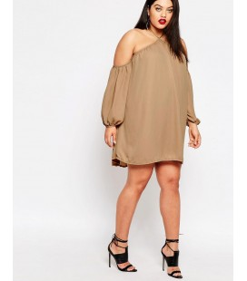 Sukienka Missguided Halter Neck