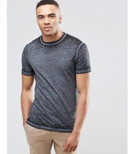 T-shirt exAS With Burnout XS