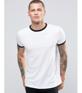 T-shirt New Look Ringer S