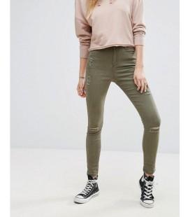 Spodnie damskie Missguided Rip Skinny XS