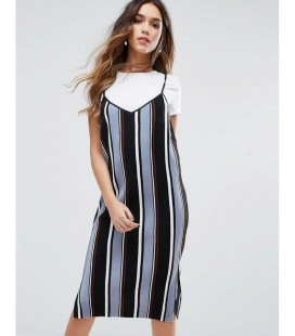 Sukienka Missguided Stripe XS