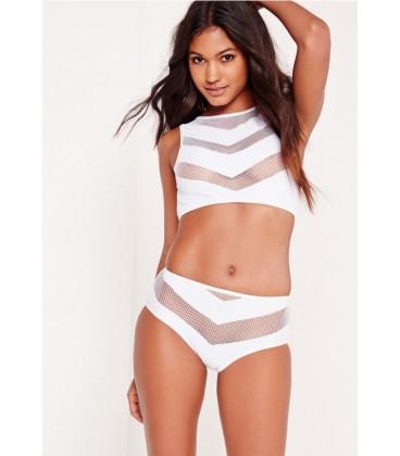Bikini Missguided Fishnet XS