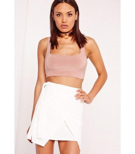 Spódnica Missguided Tie Side S
