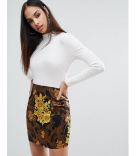 Sukienka Missguided Jacquard XL