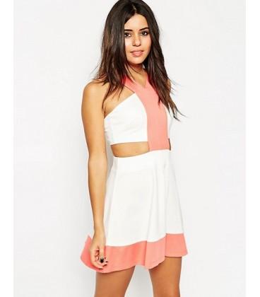 Sukienka exAS Colourblocked