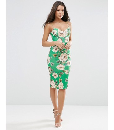 Sukienka exAS Floral Strappy M