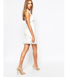Sukienka MISSGUIDED Halterneck S