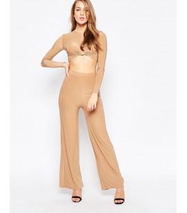 Spodnie damskie AX Paris Satin M