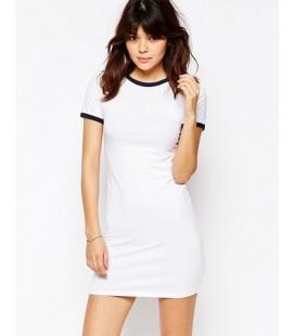 Sukienka exAS Contrast T-shirt Dress S