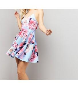 Sukienka kwiatowa NL Joelie XXL 0601015/44