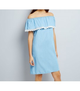 Sukienka NL Crochet Trim XXL