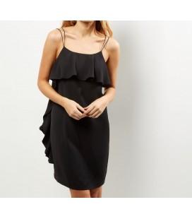 Sukienka NL Frill Side Slip