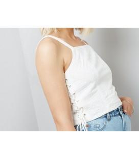 Bluzka damska NL Croset Crop Cami 0615017/46