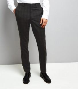 Spodnie męskie NL Skinny Check 28R 0618005/28R