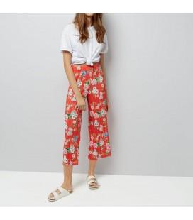 0618004/42 Spodnie plisowane NL Crop XL