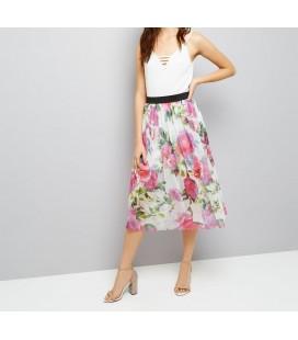 Spódnica NL Nyla Floral Mesh XS 0622010/34
