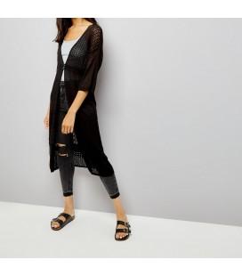 Sweter damski NL Pointelle Kimono S 0628001/36