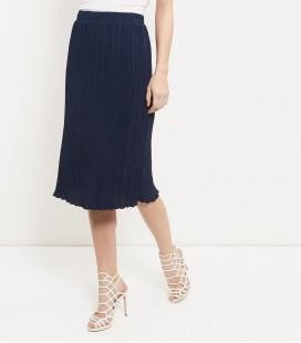 Spódnica NL Navy Pleat Skirt L 0706017/40