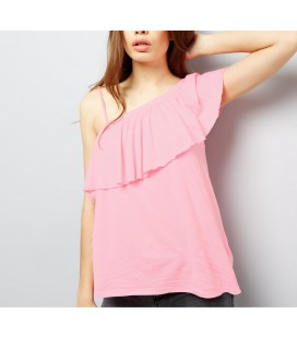 T-shirt NL Shoulder Ruffle XL