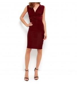 Sukienka NL Cold Shoulder Wrap XXL