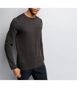 Sweter męski NL Flat Knit Pocket S 0802007/36