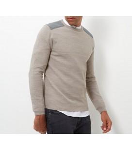 Sweter męski NL Acrylic Patch XS 0802006/34