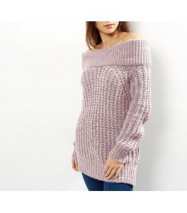 Sweter damski NL Twist Bardot S 0803016/36