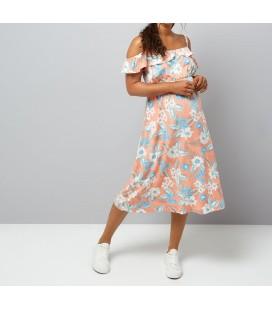 0804004/38 Sukienka NL Fern Tropical M