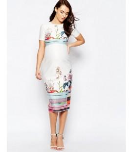 Sukienka ciążowa exAS Floral L