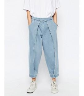 Spodnie ciążowe exAS Mom Jeans L