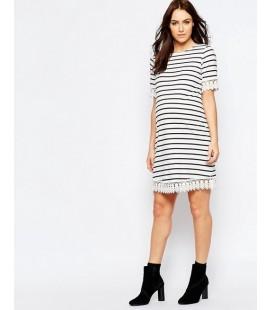 Sukienka ciążowa exAS Stripe