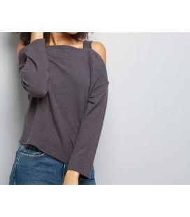 Sweter damski NL Tab Cold Shoulder S 0905004/36