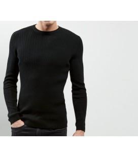 Sweter męski NL Skinny Rib XS 0907003/34