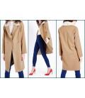 Płaszcz damski NL Fur Collar Crombie XL 0908007/42