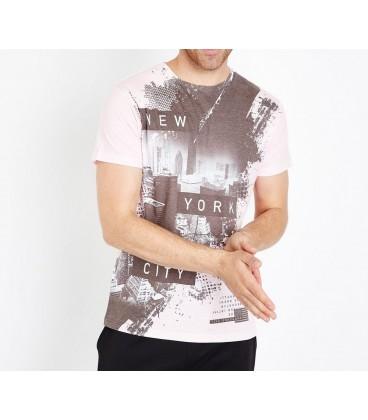 T-shirt męski NL NYC City L 0909005/40