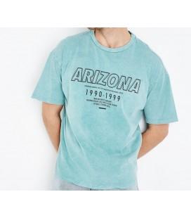 T-shirt męski NL Wash Print L 0909006/40