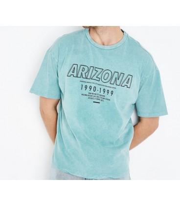 0909006/40 T-shirt NL Wash Print L