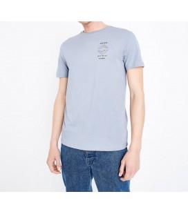 T-shirt męski NL Badge Print M 0914001/38